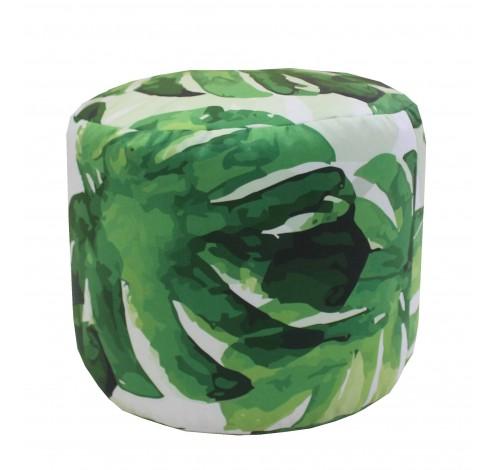 Taburet Dekoratex motiv Green Leaf