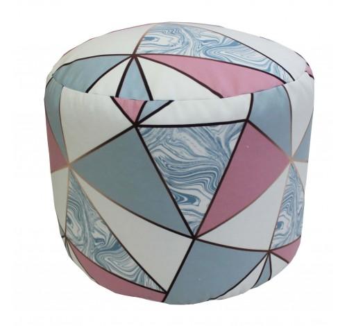 Taburet Dekoratex motiv Split Marble