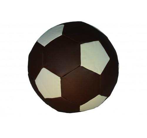 Taburet minge Duocolor (Brown&White) Piele ecologica cu...