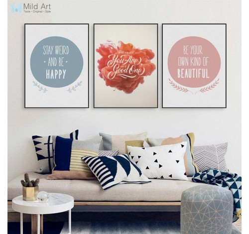 Tablou decorativ imprimat pe plus MAGIC QUOTES, Be Good,...