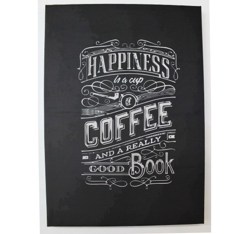 Tablou decorativ imprimat pe plus MAGIC QUOTES, Coffee...